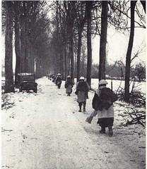 1945- Alsace - Voltigeurs DFL montant en ligne près de Sélestat - Paul Gaujac