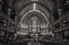 Schism, Basilique Notre-Dame de Montreal, Vieux-Montreal, Quebec, Canada photo by BeyondThePrism