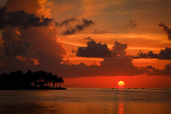 Marathon Key Sunset photo by Tom Whitney Photography