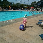 Amy practising for hols<br/>26 Jul 2014