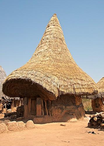 247 - Senoufo Fetish House, Nufouni Village near Korhogo, Cote d'Ivorie 2017