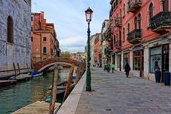 Venice : Fondamenta della Misericordia / Rio della Misericordia / Ponte San Marziale photo by Pantchoa