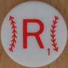 Major League Baseball Scrabble Letter R