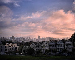 The Seven Sisters (Painted Ladies) at Sunrise. photo by Rodney A. Johnson