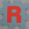 Foam Play Mat Letter R