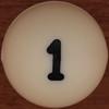 Bingo Ball Number 1