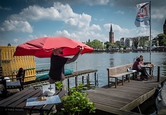 "Berlin waterfront: ""Feine Dahme"" Café Köpenick photo by V. Koeditz"