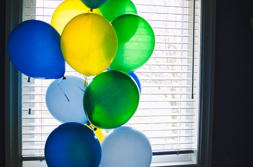 Birthday Balloons | personallyandrea.com