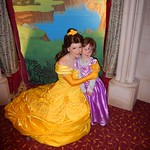 Belle giving Amy a Hug<br/>28 May 2014