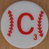 Major League Baseball Scrabble Letter C