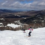 4/2/17 Spring skiing finally arrived today with soft turns and blue skies!