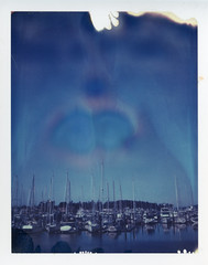All the pretty boats - Day 4 Polaroid Week photo by Ashley E. Moore