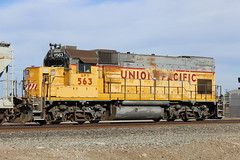Union Pacific Yard #563 (EMD GP15-1) in Stockton, CA photo by CaliforniaRailfan101 Photography