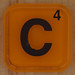 WORDS with friends letter C