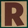 T-Shirt Printing Workshop letter R