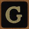 KEYWORD letter G