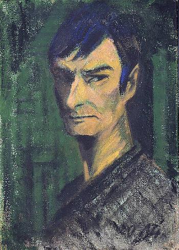 Mueller - Autoportrait - 1921..