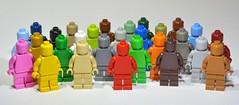 Lego monochrome family photo by Greg 50