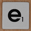 Word Game letter e