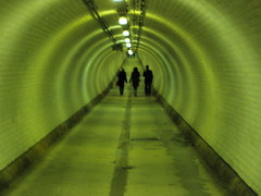 Woolwich foot tunnel photo by AndyRobertsPhotos
