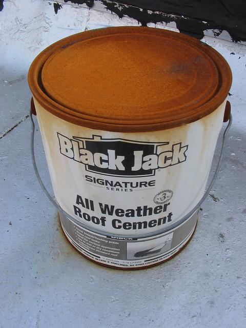 Black jack roof cement 2172 msds