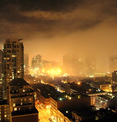 fog in yaletown photo by Vida Morkunas (seawallrunner)