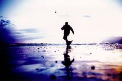 sun set beach #14 photo by lomokev