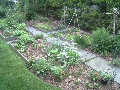 Herb and vegtable beds