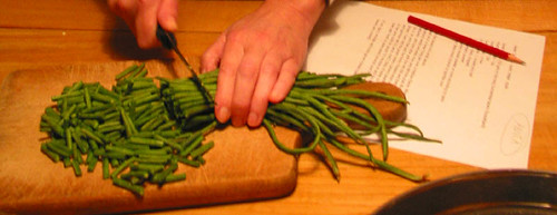kousebaan, long, long greenbeans