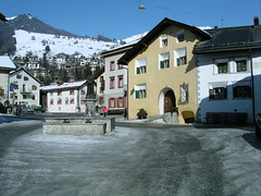 Fountain in Plaz, Scuol Sot