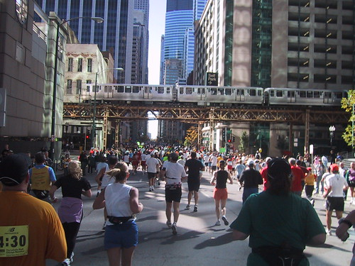 Chicago Marathon 2004