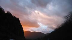 Sunset just around the corner