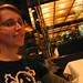 Livia at dinner