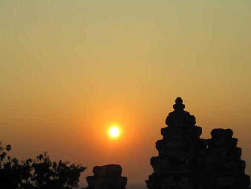 Phnom Bahkeng Sunset