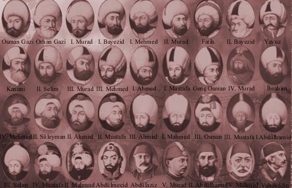 Tüm Osmanlı Padişahları