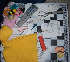 My Knitting Mess