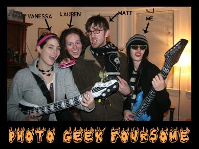 WSU Photo Geek Foursome