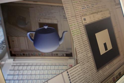 AR Teapot