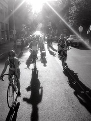 Critical Mass August - Portland OR