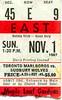 Marlies - November 1, 1987