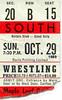 Wrestling - October 29, 1989