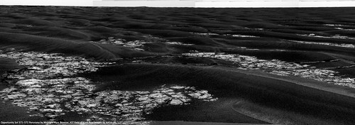 Opportunity Sol 572 - Tracks