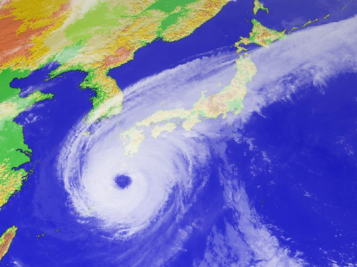 Typhoon Nabi - 4PM 09/05/2005 JST
