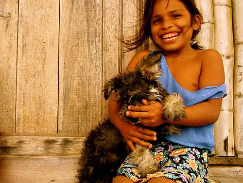 Kids in Portete Beach 16 - Yaritza enamorada de Jobim