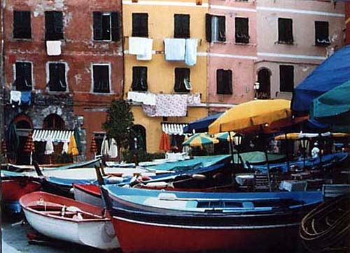 Boats of Vernazza III