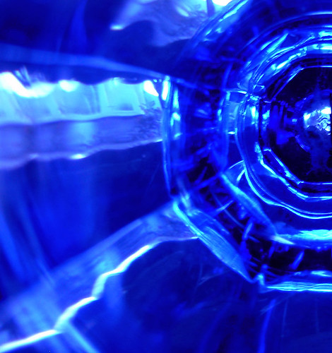 Cobalt Glass Rays
