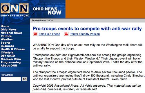 ONN/AP headline