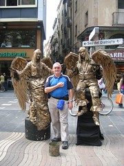 Angels in Las Ramblas