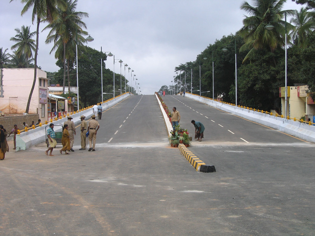 National College Basavanagudi Flyover - Full Size Image 1