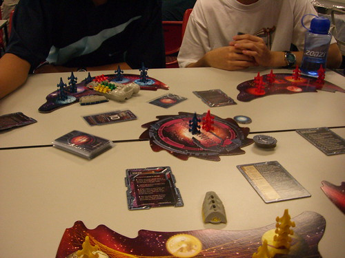 A game with aliens